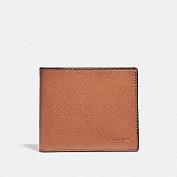 3-IN-1 WALLET - GINGER - COACH F24425