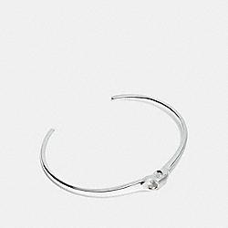 SIGNATURE CHAIN LINK CUFF - SILVER - COACH F24485