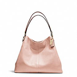 COACH MADISON LEATHER PHOEBE SHOULDER BAG - LIGHT GOLD/PEACH ROSE - F24621