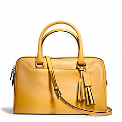 LEGACY LEATHER HALEY SATCHEL WITH STRAP COACH F24622