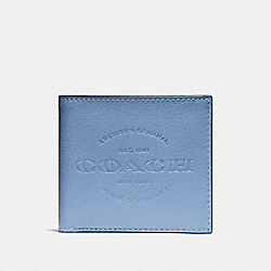 COACH DOUBLE BILLFOLD WALLET - DUSK - F24647