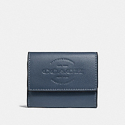 COACH COIN CASE - DENIM - F24652