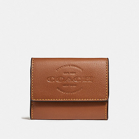 COACH COIN CASE - SADDLE - F24652