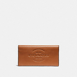 COACH BREAST POCKET WALLET - SADDLE - F24653