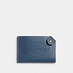 COACH CARD CASE - DENIM - F24659