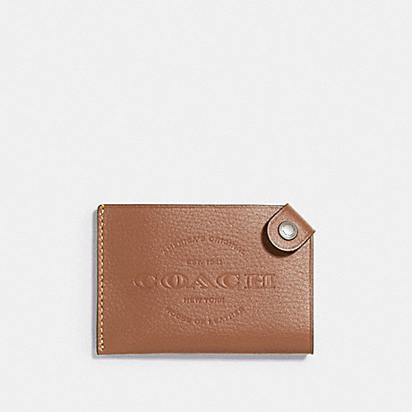 COACH f24659 CARD CASE SADDLE