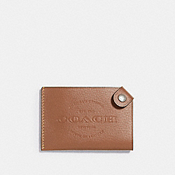 COACH CARD CASE - SADDLE - F24659