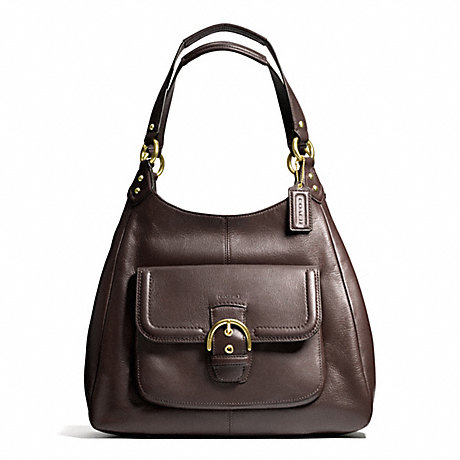 COACH F24686 CAMPBELL LEATHER HOBO