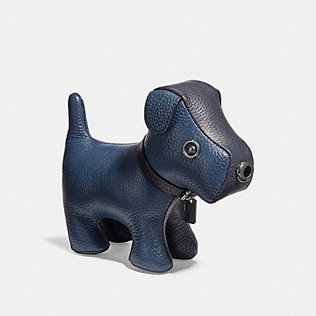 COACH DOG PAPERWEIGHT - DENIM - f24738