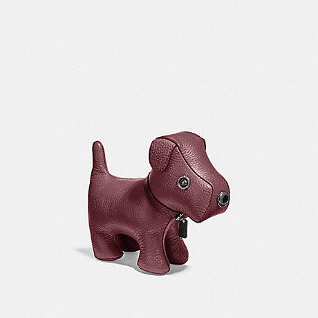 COACH DOG PAPERWEIGHT - RUSSET/BLACK ANTIQUE NICKEL - F24738