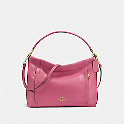 COACH SCOUT HOBO - LIGHT GOLD/ROUGE - F24770