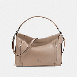 COACH SCOUT HOBO - SILVER/STONE - F24770