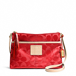 COACH WEEKEND SIGNATURE NYLON HIPPIE - ONE COLOR - F24861