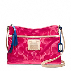 COACH LEGACY WEEKEND SIGNATURE NYLON HIPPIE - ONE COLOR - F24861