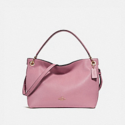 CLARKSON HOBO - ROSE/LIGHT GOLD - COACH F24947