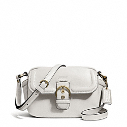 COACH CAMPBELL LEATHER CAMERA BAG - BRASS/IVORY - F25150