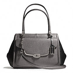 COACH MADISON SAFFIANO LEATHER MADELINE EAST/WEST SATCHEL - ONE COLOR - F25162