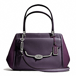COACH MADISON MADELINE EAST/WEST SATCHEL IN SAFFIANO  LEATHER - ONE COLOR - F25162
