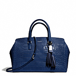 COACH EMBOSSED CROC LARGE LOWELL - ONE COLOR - F25328