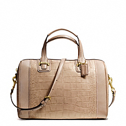 COACH TAYLOR EXOTIC LEATHER SATCHEL - ONE COLOR - F25329