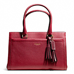COACH CHELSEA PEBBLED LEATHER CARRYALL - ONE COLOR - F25340