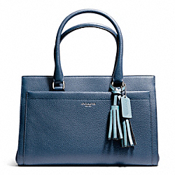 COACH PEBBLED LEATHER CHELSEA CARRYALL - ONE COLOR - F25340