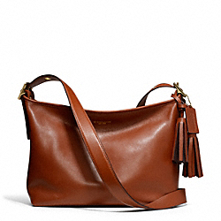 COACH EAST/WEST DUFFLE IN LEATHER - ONE COLOR - F25355