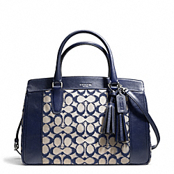 COACH NEEDLEPOINT SIGNATURE CHELSEA CARRYALL - ONE COLOR - F25381