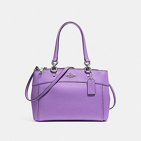 COACH MINI BROOKE CARRYALL - IRIS/SILVER - F25395