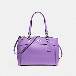 MINI BROOKE CARRYALL - IRIS/SILVER - COACH F25395