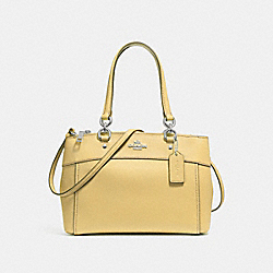 MINI BROOKE CARRYALL - VANILLA/SILVER - COACH F25395