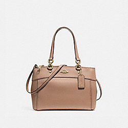 COACH BROOKE CARRYALL - LIGHT GOLD/NUDE PINK - F25397