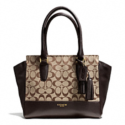 COACH SIGNATURE CANDACE CARRYALL - ONE COLOR - F25403
