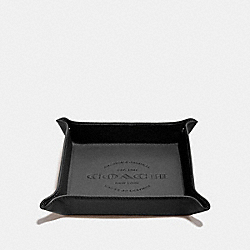 COACH VALET TRAY - BLACK - F25437