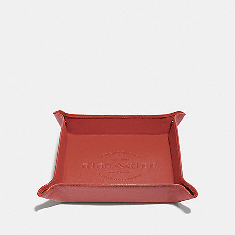 COACH VALET TRAY - PEPPER - f25437