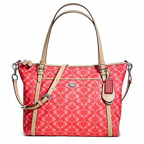 COACH f25506 PEYTON DREAM C POCKET TOTE