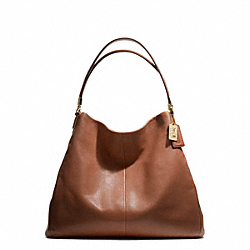 MADISON LEATHER PHOEBE SHOULDER BAG COACH F25635