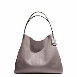 COACH MADISON LEATHER PHOEBE SHOULDER BAG - SILVER/GREY QUARTZ - F25635