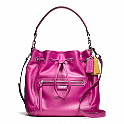 COACH DAISY LEATHER DRAWSTRING SHOULDER BAG - ONE COLOR - F25661
