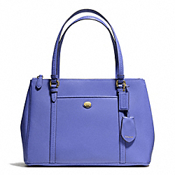 COACH PEYTON LEATHER JORDAN DOUBLE ZIP CARRYALL - ONE COLOR - F25669