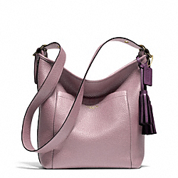 PEBBLED LEATHER DUFFLE COACH F25678