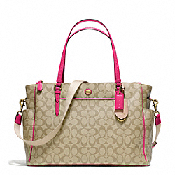 COACH PEYTON MULTIFUNCTION TOTE IN SIGNATURE FABRIC - ONE COLOR - F25741