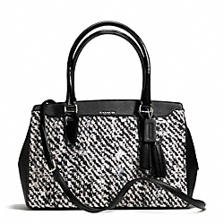 COACH DONEGAL PRINT CONVERTIBLE TOP CHELSEA CARRYALL - ONE COLOR - F25811