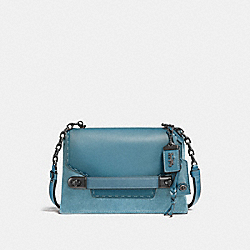 COACH SWAGGER CHAIN CROSSBODY IN COLORBLOCK - BP/CHAMBRAY - COACH F25833