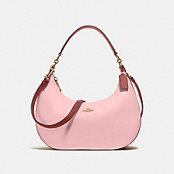 COACH EAST/WEST HARLEY HOBO IN COLORBLOCK - BLUSH/TERRACOTTA/LIGHT GOLD - F25896