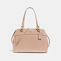 COACH LARGE BROOKE CARRYALL - LIGHT GOLD/NUDE PINK - F25926