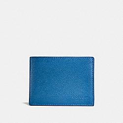 SLIM BILLFOLD WALLET - BLUE JAY - COACH F25995