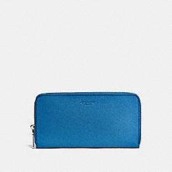 ACCORDION WALLET - BLUE JAY - COACH F25997