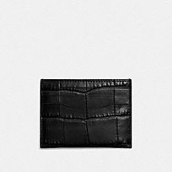 CARD CASE - BLACK - COACH F26008