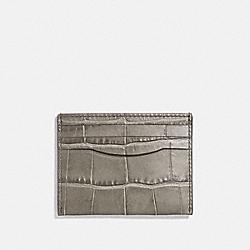 CARD CASE - FOG - COACH F26008